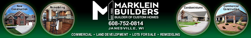 Marklein Builders Inc Header